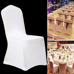 1/10/20/50/100 Spandex Folding Seat Chair Covers Wedding Din
