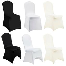 10/50/100/200 x Spandex Stretch Folding Chair Cover Elastic