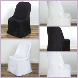 Polyester FOLDING CHAIR COVERS Wedding Party Banquet Event D