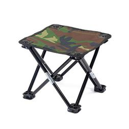 1pc Practical Folding Stool Recreational Fishing Gear for Ca