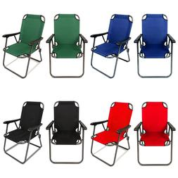 2 Portable Folding Chair Beach Chair Lightweight Travel Pati