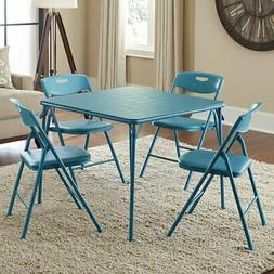 Cosco 34 in. Square Table and Chair Set - 5 Piece Set