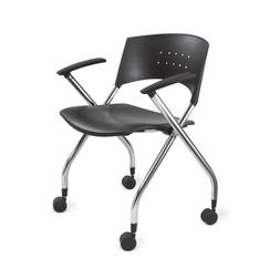 Safco Products 3480BL xtc. Nesting Chair, Black