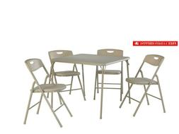 37557ante 5 piece folding table and chair