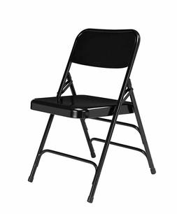 National Public Seating 4 pack Deluxe All Steel Folding Chai