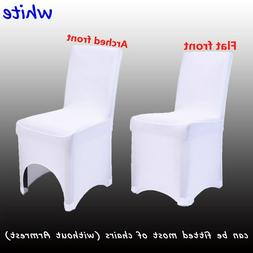 50/100PCS Spandex Stretch Folding Chair Covers For Wedding P