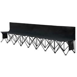 8 seats portable folding bench for camping