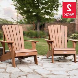 Lifetime Adirondack Chair 2-pack Durable Weather-resistant U