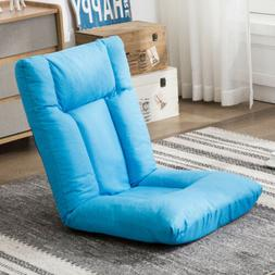 Floor Chair Gaming Sofa Chair with Adjustable Cushioned Fold