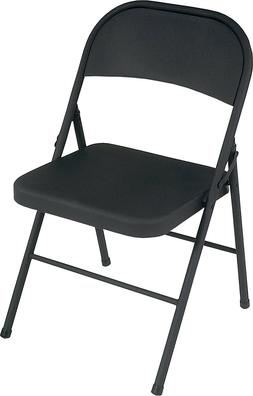 Cosco All Steel Folding Chair Black