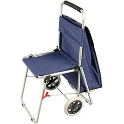 The ArtComber Folding Big Wheeled Portable Rolling Chair/Art