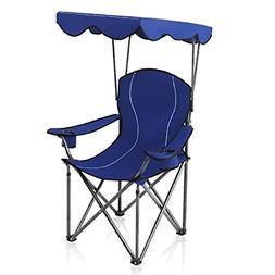 CAMP Camp Chairs with Shade Canopy Chair Folding Camping Rec