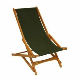 Camping Chair Green Folding Outdoor Recreation Polyester Hea