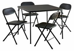 Card Table And Chairs Folding Board Game Tables Set For Adul