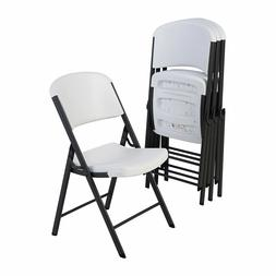 4 Pack Commercial Grade Contoured Comfort Folding Chair HDPE