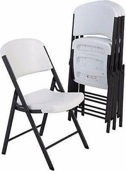 Lifetime Commercial Grade Contoured Folding Chair Select Col