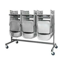 Cosco Commercial Heavy Duty Folding Chair Trolley Cart with