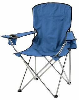 Quik Shade Quick Chair Deluxe Folding Quad Chair, Navy