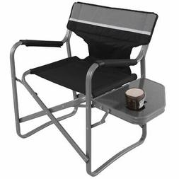 Director's Chair Folding Side Table Outdoor Camping Fishing