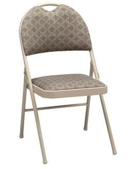 Double Padded High Back Chair , Chicory Lace/Motif