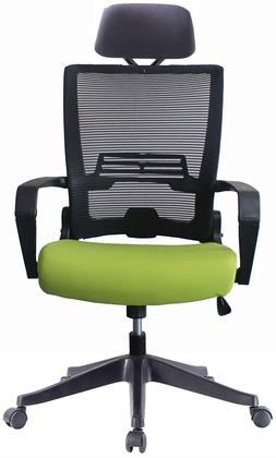 Ergonomic Task Chair Computer Desk Office Easy Fold Out Gree