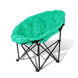 Extra Comfort Folding Moon Chair Saucer With Suded Pad For A