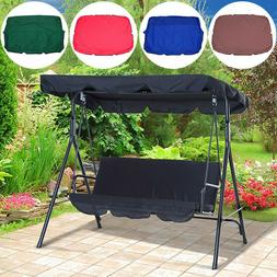 Foldable Portable Sunshade Cover Canopy for Patio Swings Out