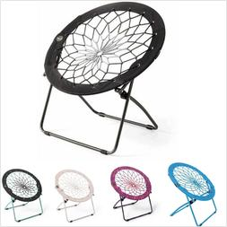 Folding Bungee Cord Chair Lightweight Kids Seating For Sport