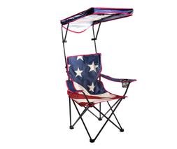Folding Chairs With Canopy Quik Shade Camping Outdoors Porta