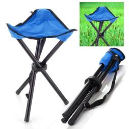 Outdoor Hiking Fishing Lawn Portable Pocket Folding Chair wi