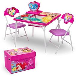 Delta Children 4-Piece Kids Furniture Set , Disney Princess