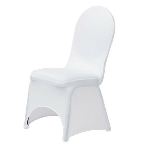 10/50/100/200 x Spandex Folding Chair Covers Party