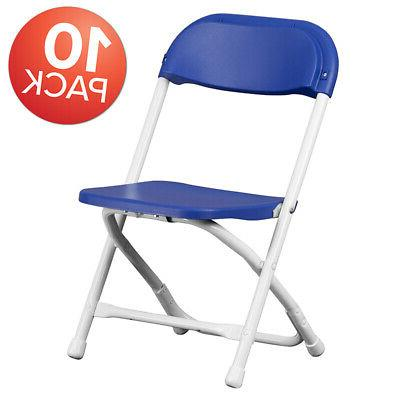 10 pack kids plastic folding chair daycare