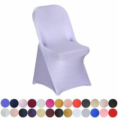 10 pcs spandex fitted folding chair covers