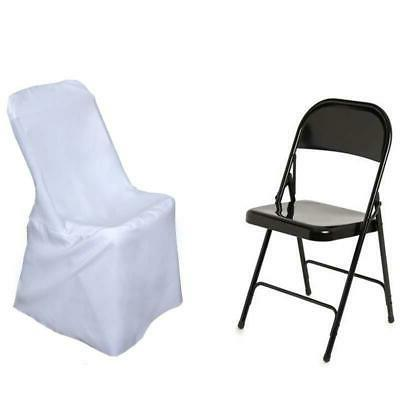 10 White LIFETIME CHAIR COVERS Discounted