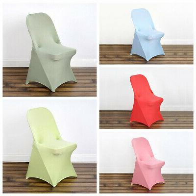 250 pcs spandex fitted folding chair covers