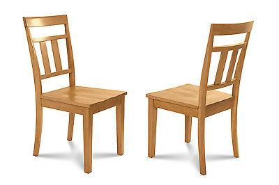 """42"""" ROUND DINING SET with 9"""" IN OAK"""