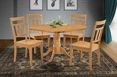 42 round dinette kitchen dining room table