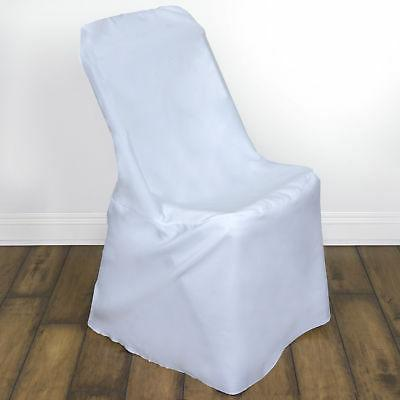 10 white lifetime folding chair covers wedding