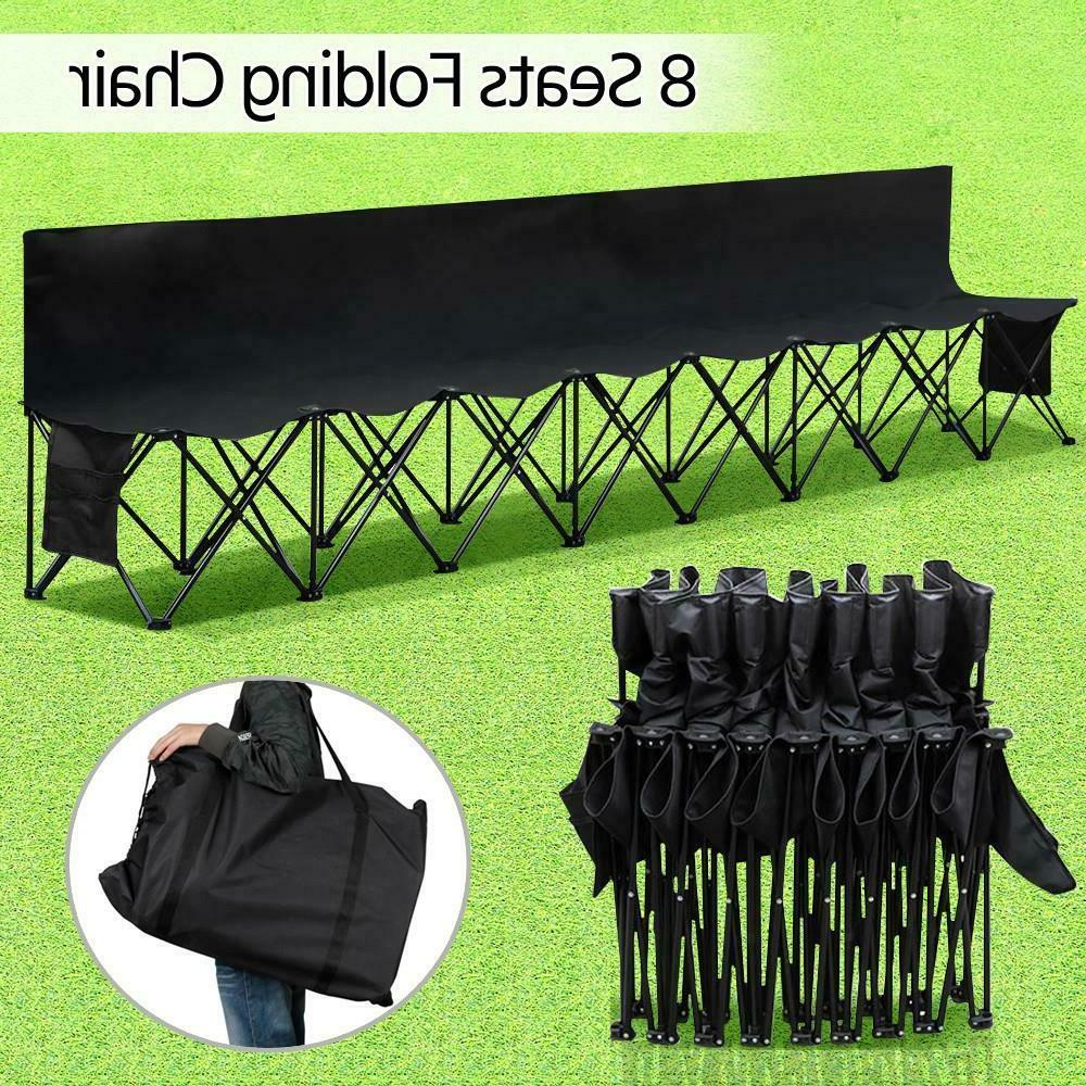 8 Seats Portable Folding Bench For