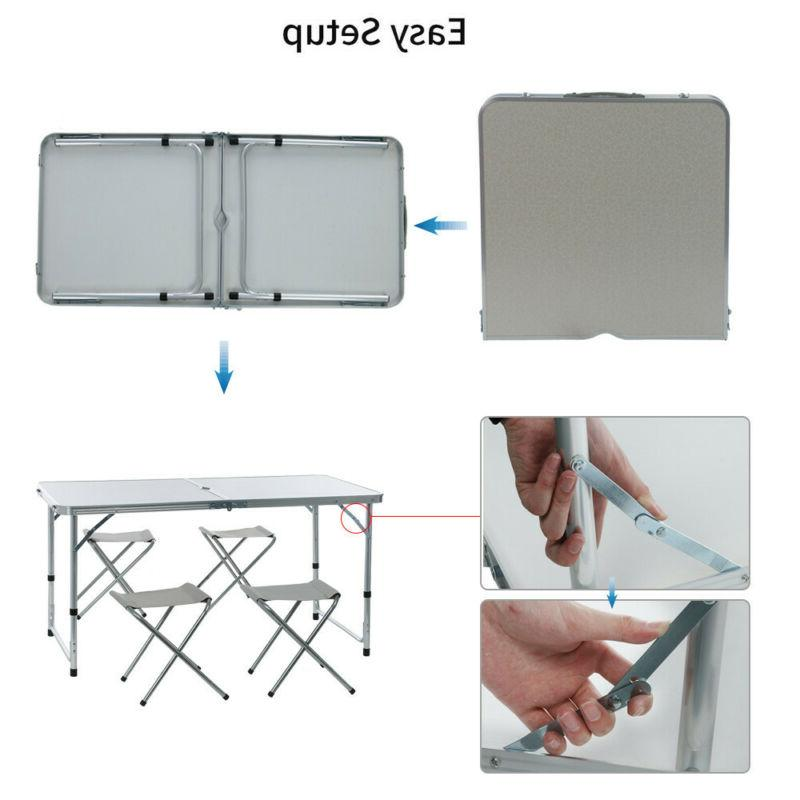 Folding Table Portable Plastic Indoor Party