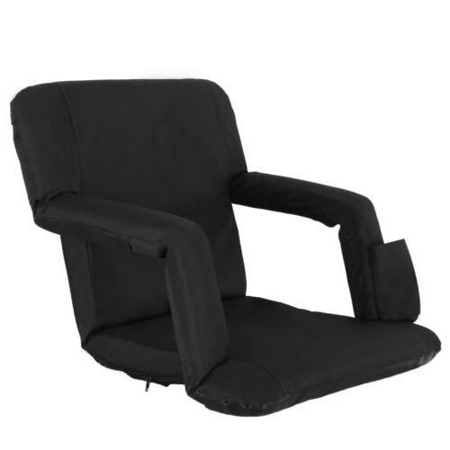 stadium chair cushion recliner portable padded seat