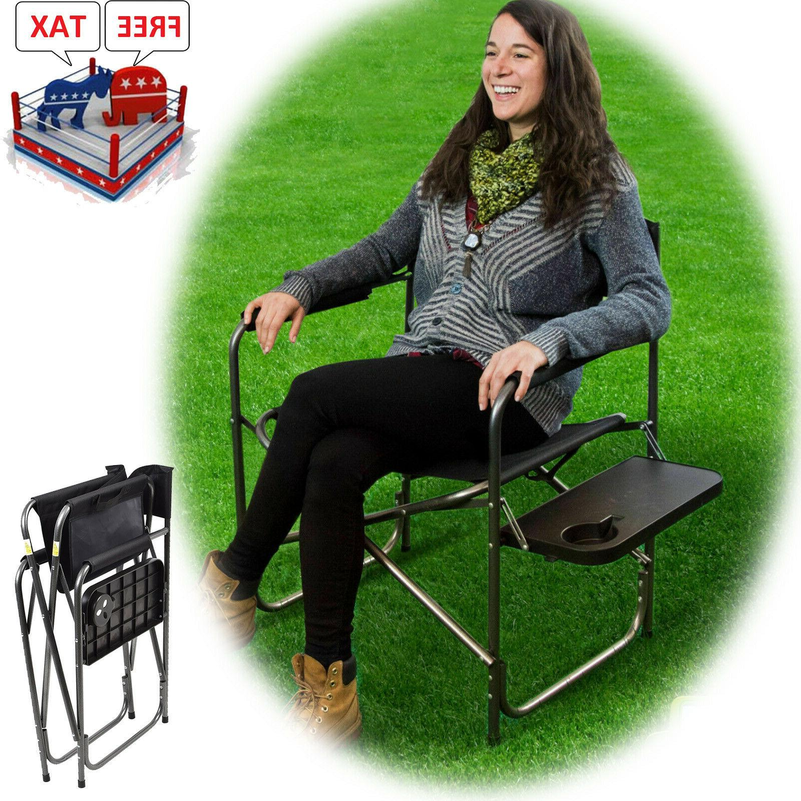 camping folding heavy duty chair outdoor portable