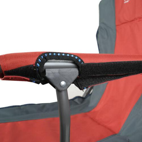 Camping Heavy Steel Chair Headrest Portable