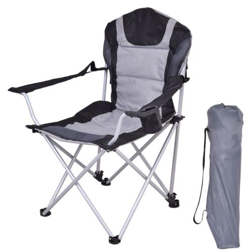 Chair Camping Outdoor Holder Case Storage Pocket Gray
