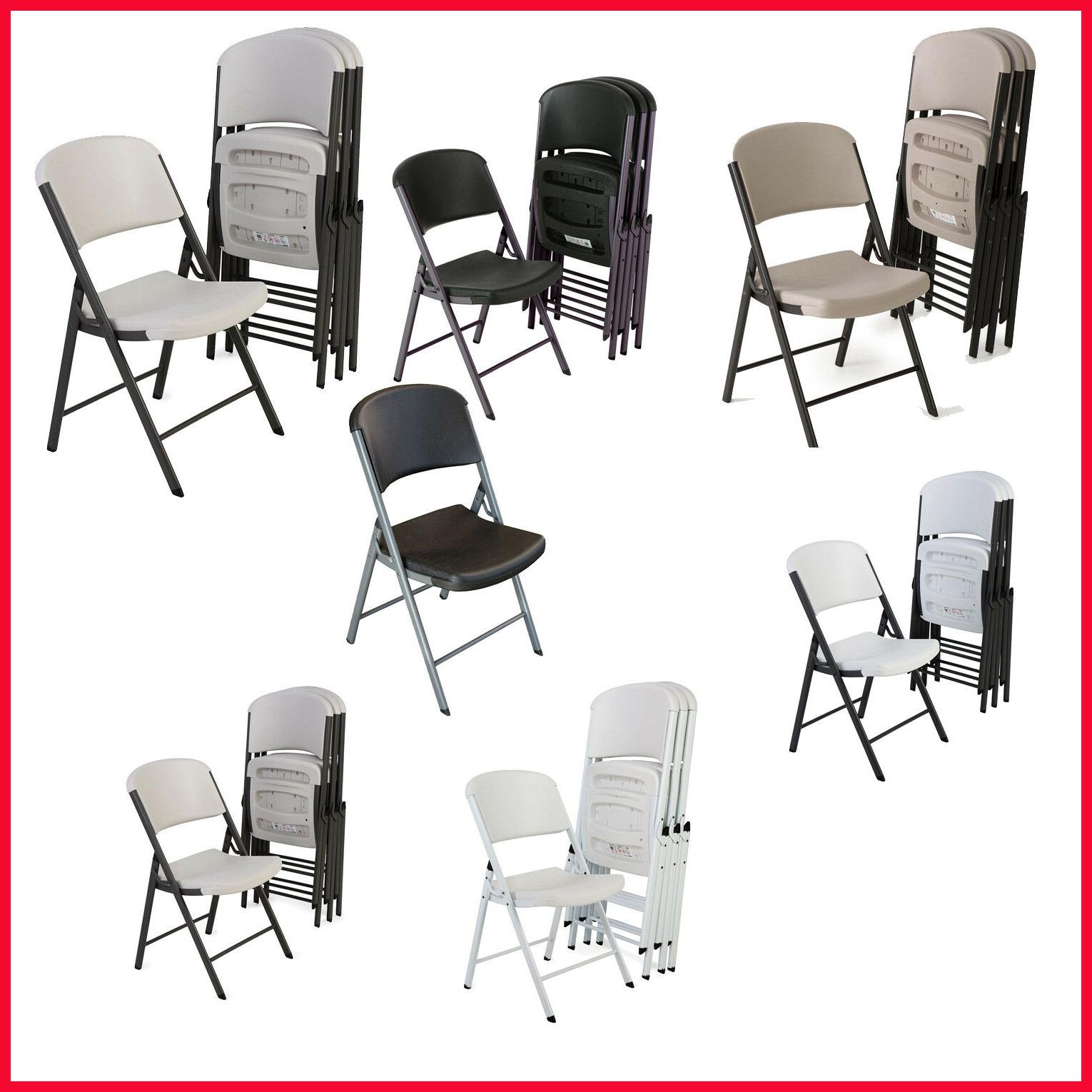 commercial grade contoured folding chair 4 pack