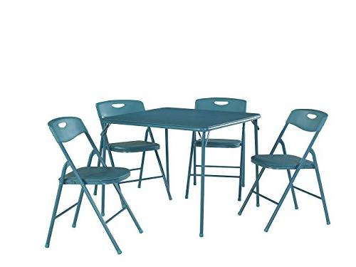 Cosco Table and Chair Set, Multiple Colors