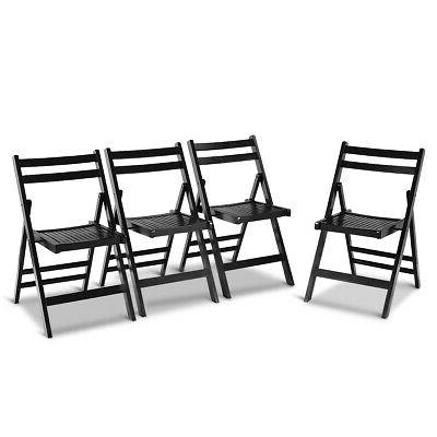 dining folding chairs lightweight solid wood home