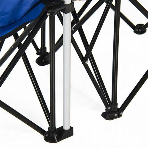 Picnic Double Chair Umbrella Table Cooler Fold Up Chair