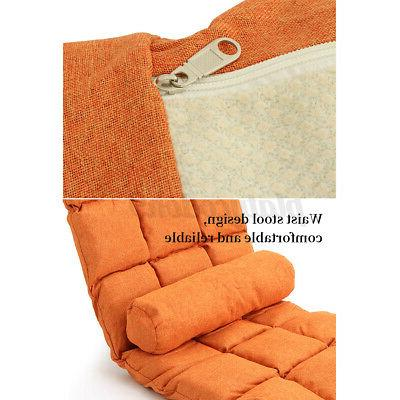 Folding Adjustable Floor Gaming Cushion Couch